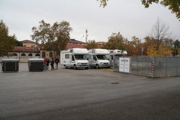 Parkirišče v Padovi