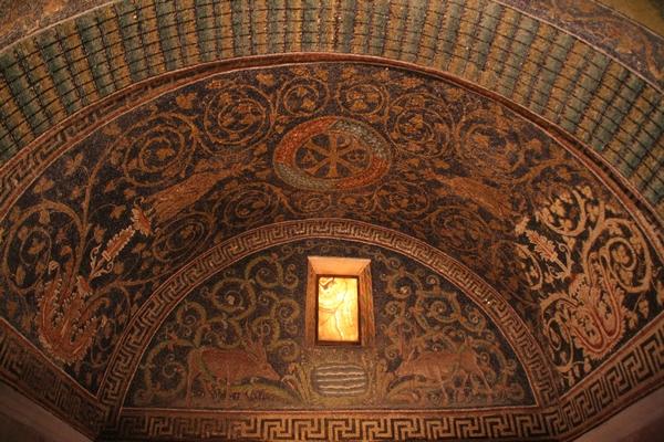 Bizantinski mozaiki in okna iz alabastra