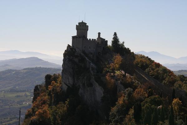 Pogled na drugi stolp