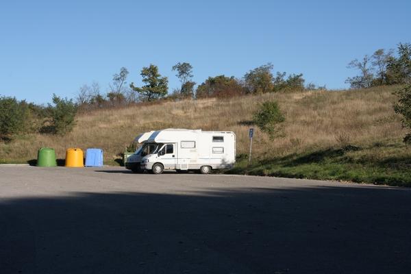 Parkirišče pod San Leom