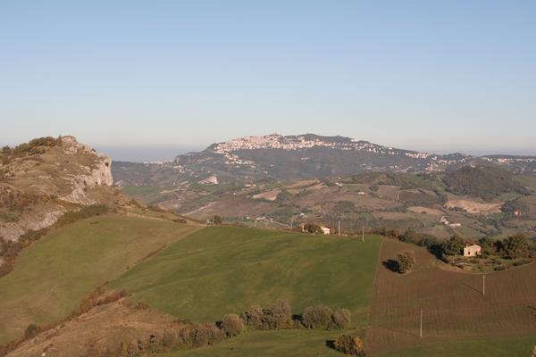 Monte San Severin in San Marino