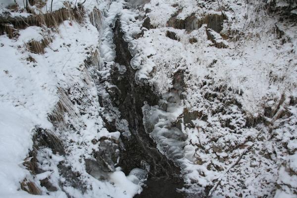 Voda in led