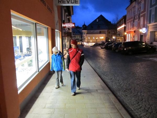 Večerni sprehod po Mariazellu