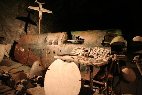 Ostanki delov He 162