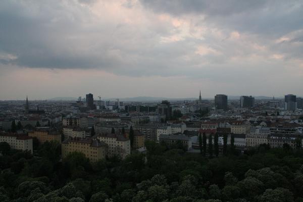 Pogled na Dunaj