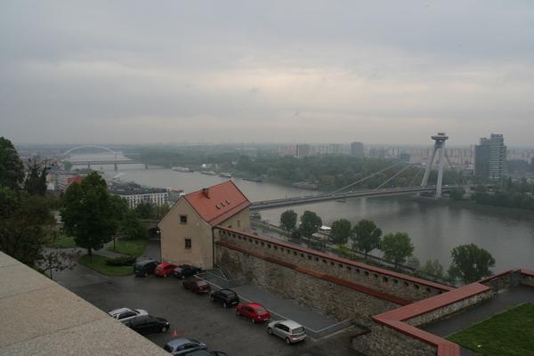 Pogled z gradu
