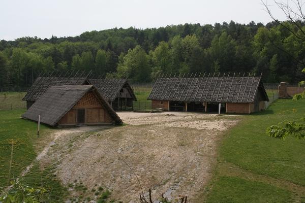 Rekonstrukcija neolitske vasi