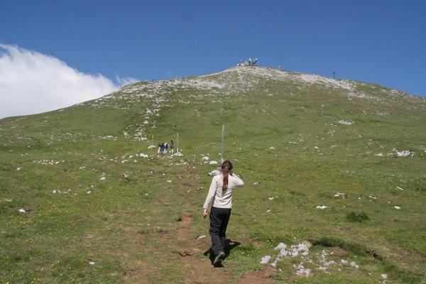 Vzpon proti najvišjemu vrhu Dolnje Avstrije