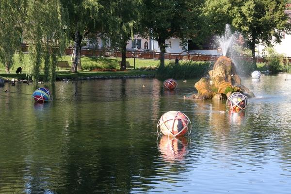 Mestni park v Puchbergu