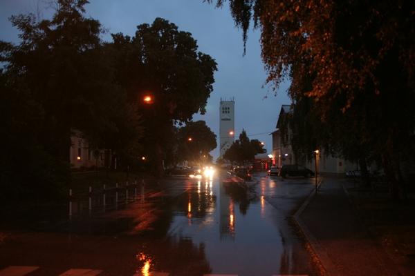 Deževni sprehod