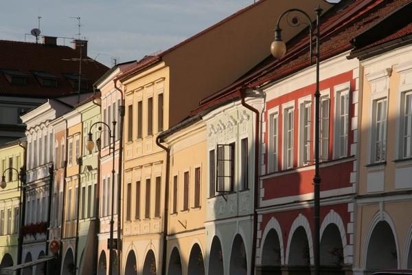 Smetanov trg v Litomyšlu