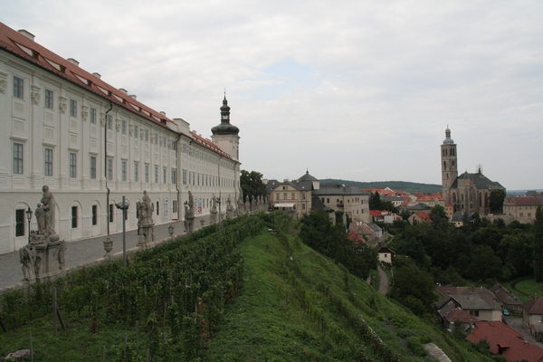 Dominikanski samostan in pogled na mesto