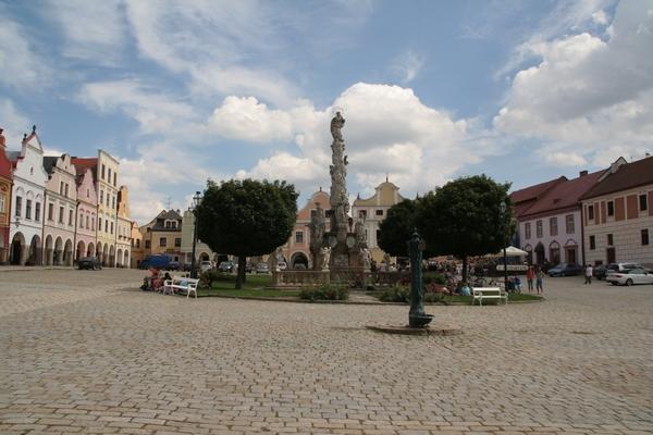 Osrednji trg v Telču