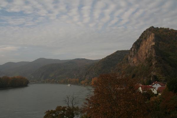 Pogled na Donavo v Dürnsteinu